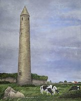 Ratoo Round Tower, Co. Kerry
