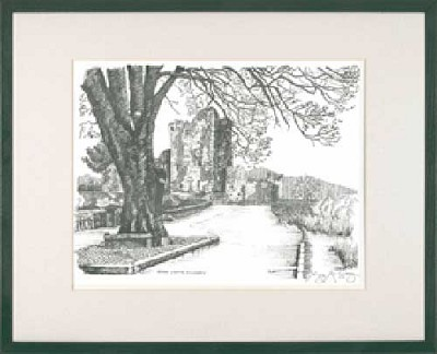 Ross Castle (Pen & Ink)