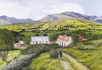 Hillside Farm , McGillicuddy Reeks, Killarney, Co. Kerry