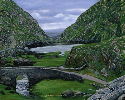 Gap of Dunloe, Killarney, Co. Kerry