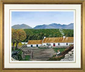 The Gap of Dunloe Framed Giclee
