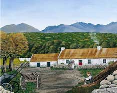 The Gap of Dunloe Lithograph